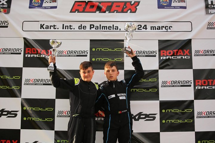 João Oliveira vence segunda prova do Troféu Rotax Mini-Max em Palmela