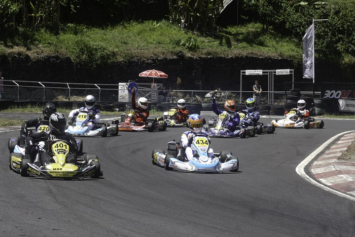 Diogo Silva volta a triunfar na Max Maxter do Troféu de Karting da Madeira