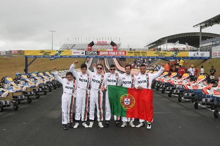 Portugueses em bom plano nas Rotax Max Challenge Grand Finals no Brasil
