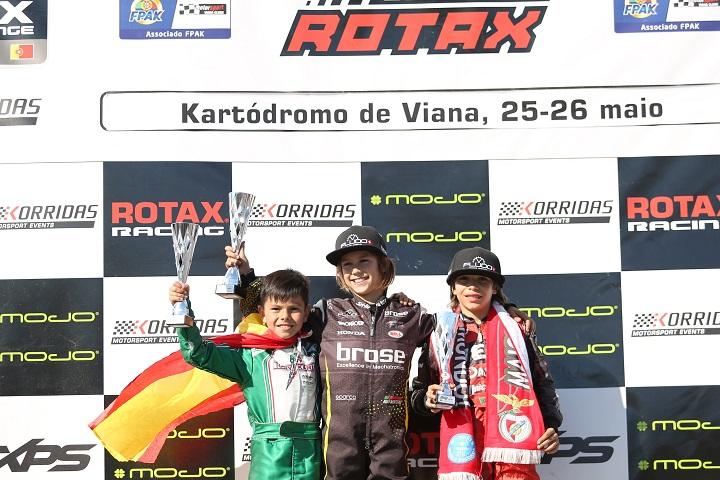 Estreia vitoriosa de Noah Monteiro no Troféu Rotax da Micro em Viana do Castelo