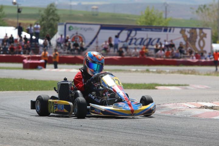 José Barros e Tomás Ribeiro sem sorte na Mini-Max das Series Rotax Espanha