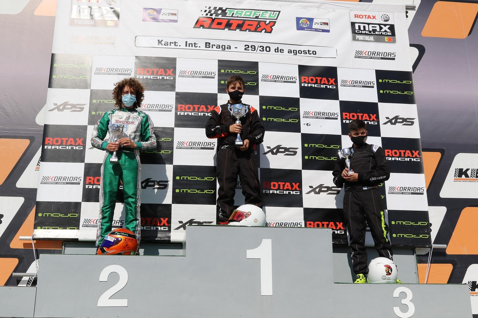 João Oliveira vence no arranque da terceira jornada do Troféu Rotax Júnior em Braga