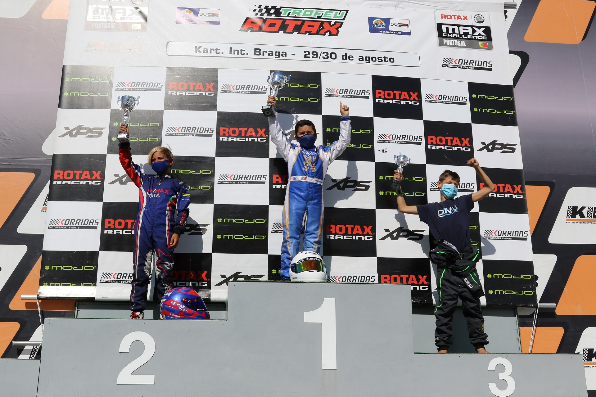 Afonso Ferreira estreia-se a ganhar na categoria Micro-Max do Troféu Rotax