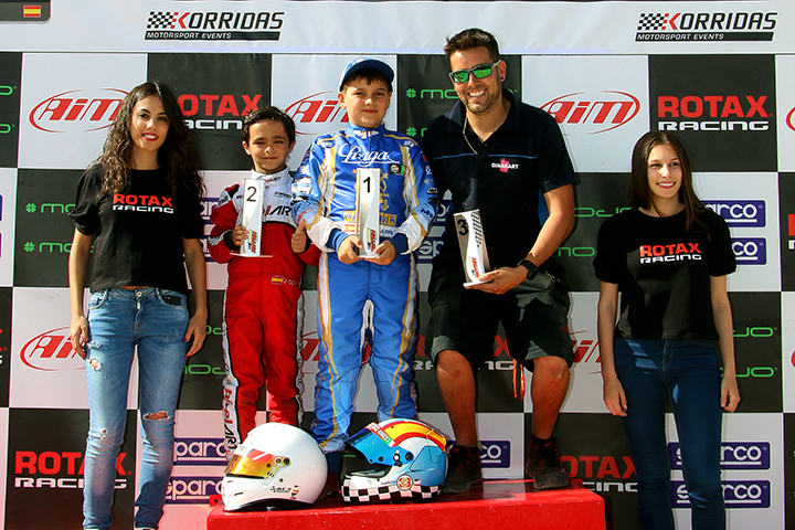 Adrian Malheiro soma nova vitória para Series Rotax Espanha na Micro-Max