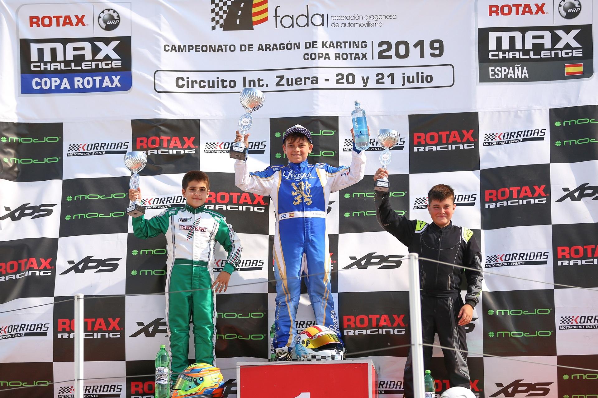 Adrián Malheiro lidera a Copa Rotax Mini-Max e João Oliveira está no top-5