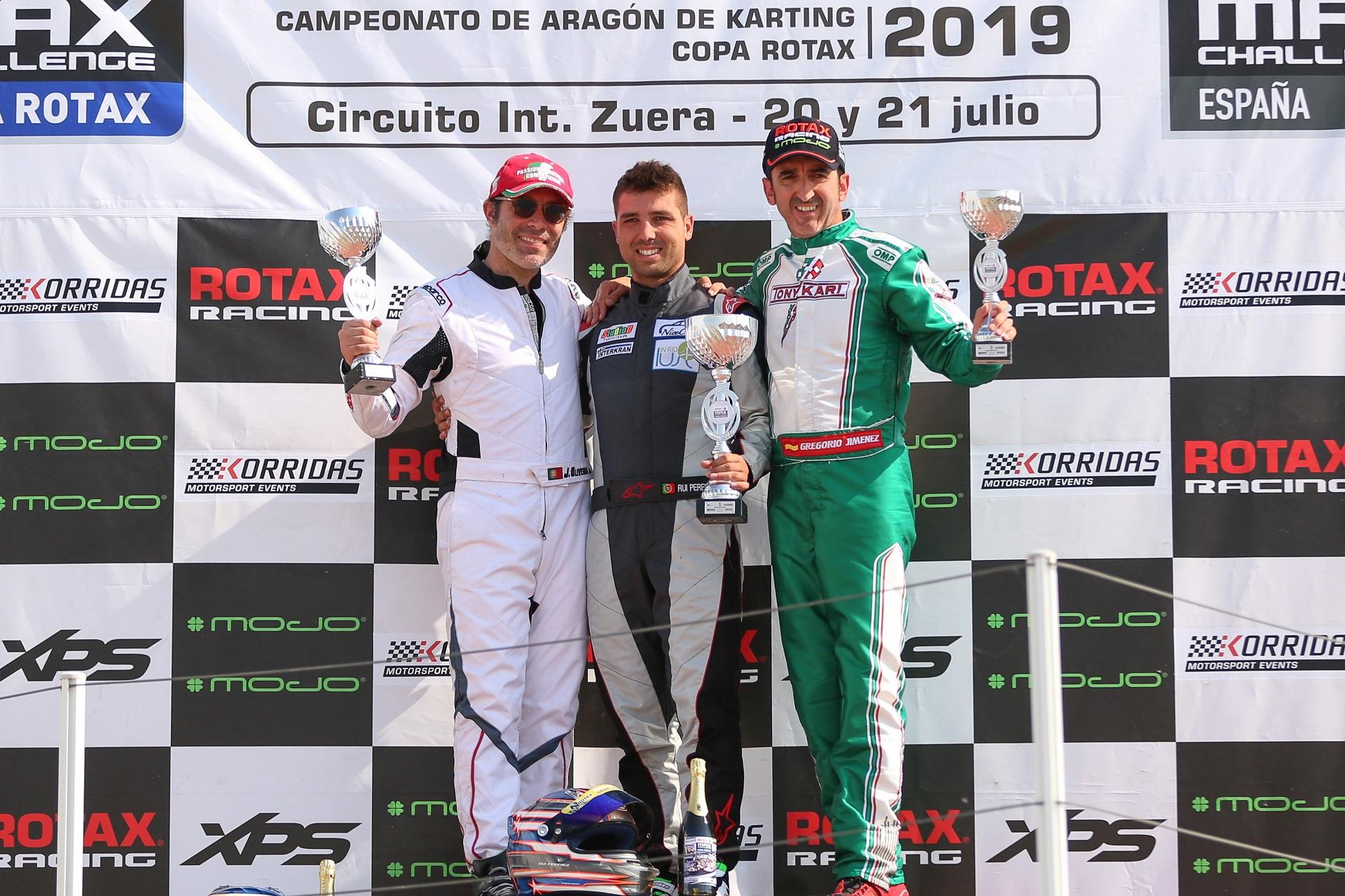 Rui Pereira vence e João Oliveira é 2.º na Copa Rotax DD2 Master