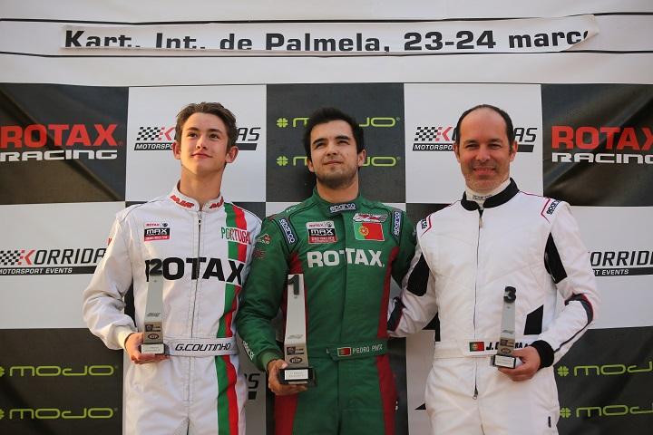 Pinto vence na DD2 e Oliveira na Master na abertura do Troféu Rotax em Palmela