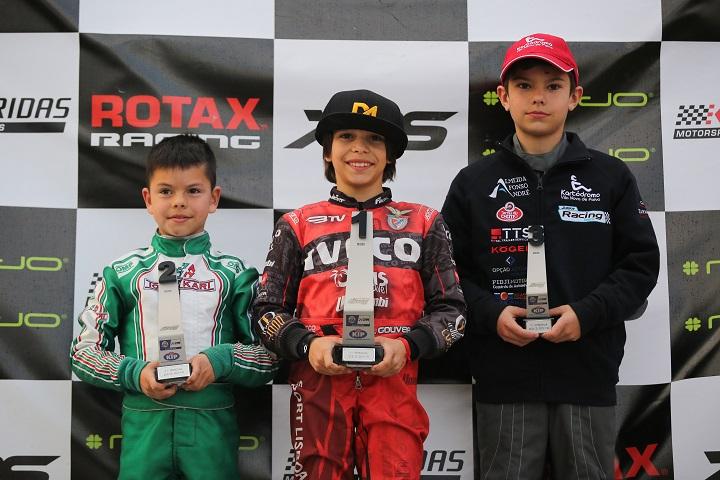 João Maria Gouveia estreia-se a vencer no Troféu Rotax Micro-Max em Palmela