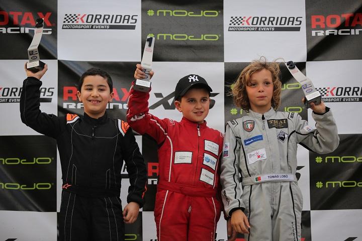Primeira vitória de Tomás Gomes no Troféu Rotax Micro-Academy em Palmela