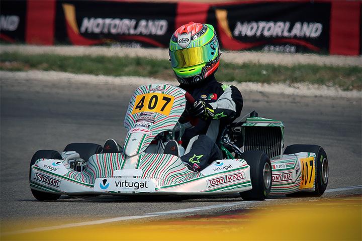 Series Rotax Espanha DD2: Pedro Pinto no top 5… Fernando Costa 7º nos Masters