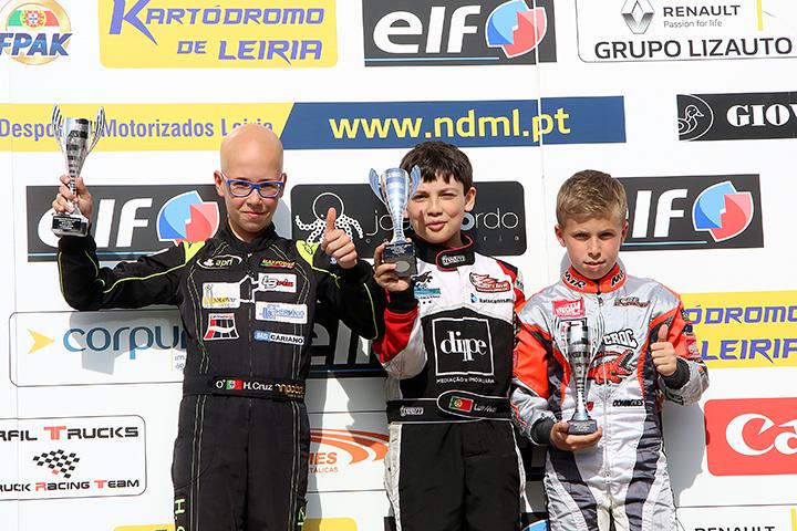 Luís Alves regressa às vitórias para Campeonato Nacional da categoria Juvenil