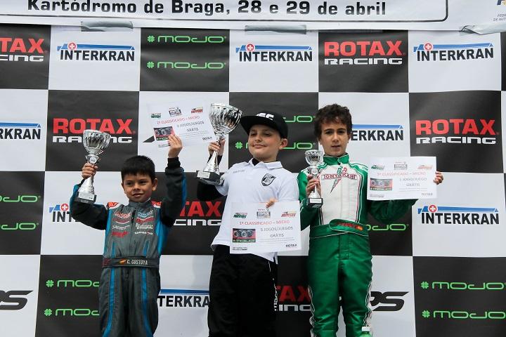 José Pinheiro vence em Braga… Christian Costoya campeão ibérico Micro-Max