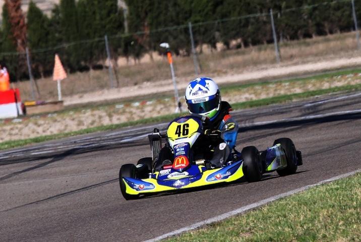 Pedro Moura vence Zuera e reforça liderança nas Series Rotax Espanha Academy