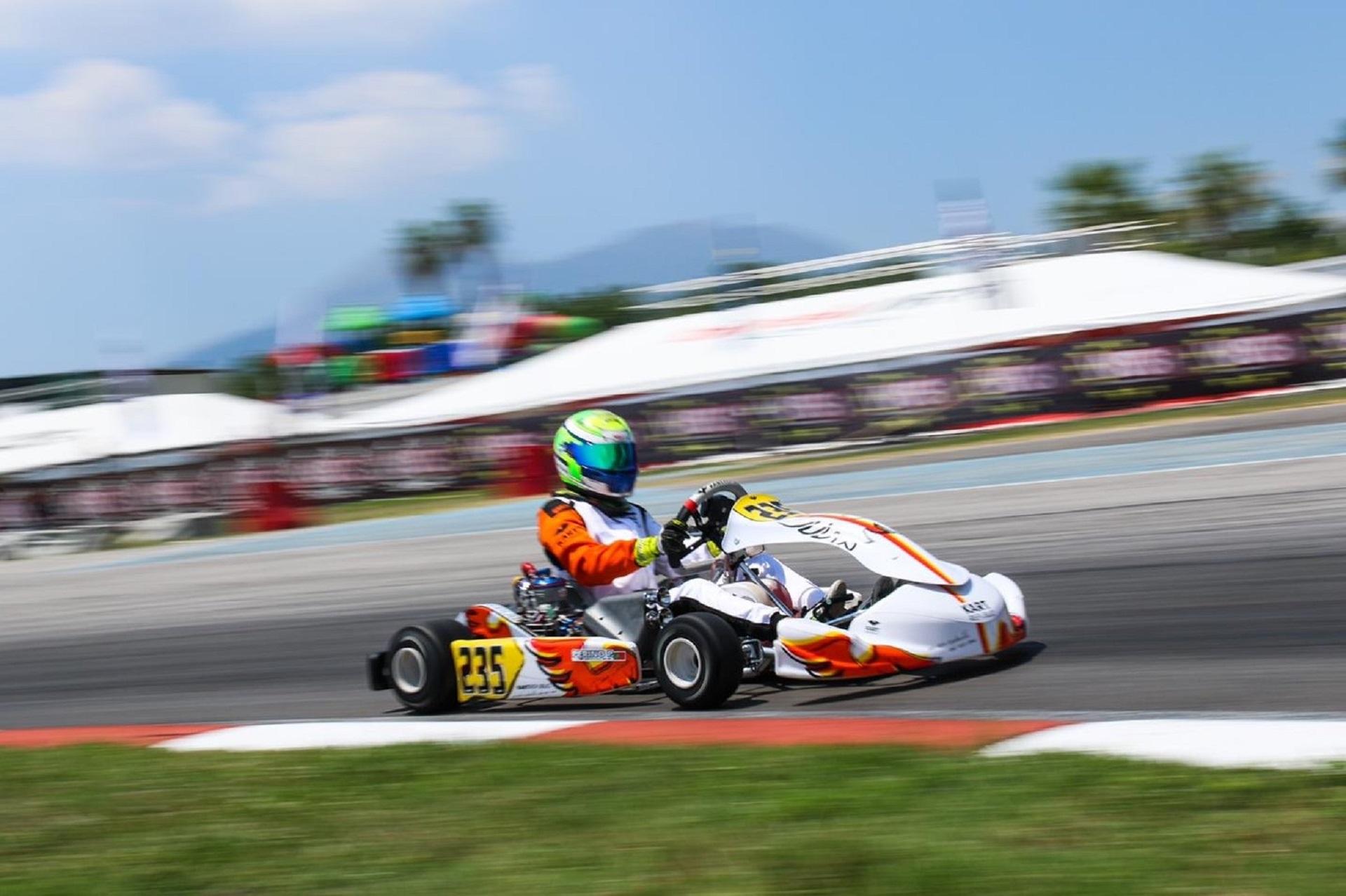 Pedro Perino garante presença final no WSK no Circuito Internacional de Nápoles