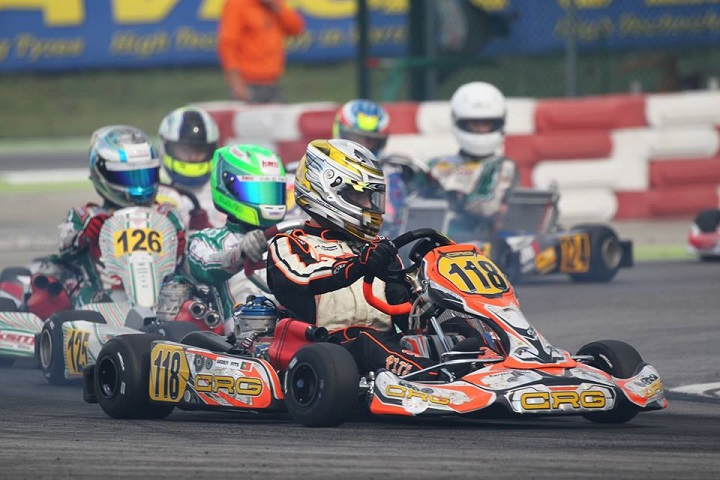 Andriy Pits 24º classificado na segunda prova do Europeu da categoria OK em Itália