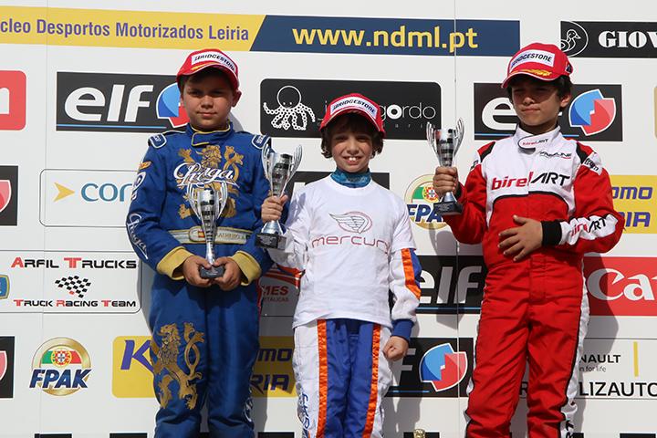 Mateus Cabrelli estreia-se a vencer no Campeonato Nacional da categoria Cadete