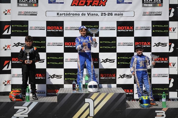 Adrián Malheiro reforça liderança no Troféu Rotax Mini-Max em Viana do Castelo