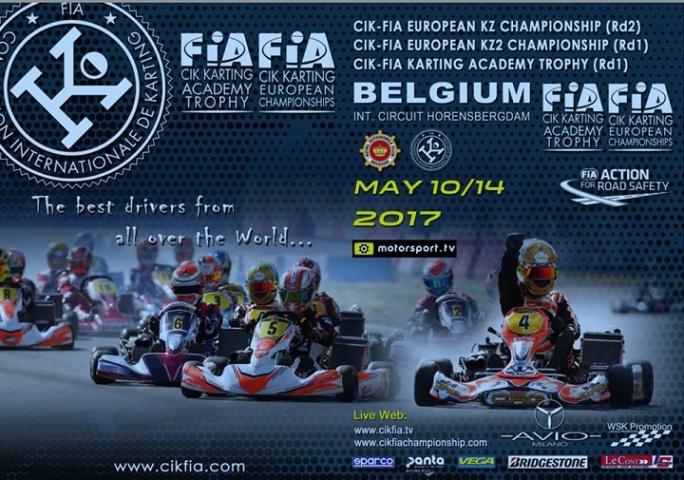Guilherme de Oliveira estreia-se no Troféu Academia CIK-FIA na Bélgica