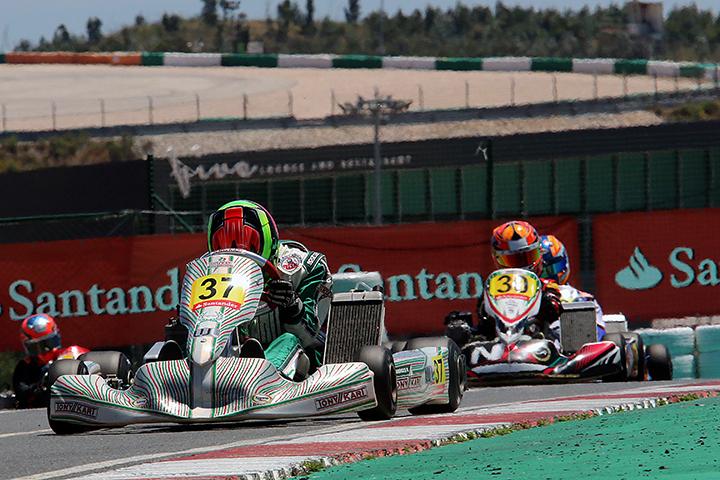 Ricardo Borges muito forte na categoria Sénior do Campeonato de Espanha