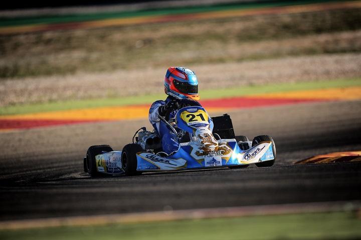 Rodrigo Ferreira vai partir do 14.º posto na Final 1 do CEK da categoria Sénior-KZ2