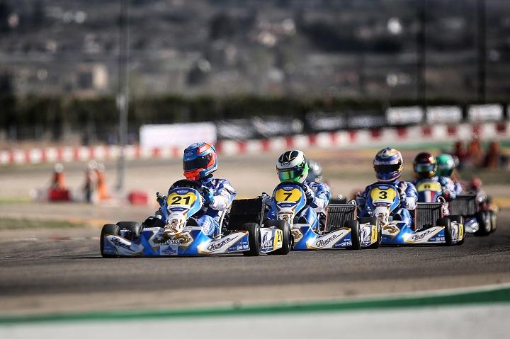 Rodrigo Ferreira 6.º classificado na Final 2 do Campeonato de Espanha Sénior-KZ2