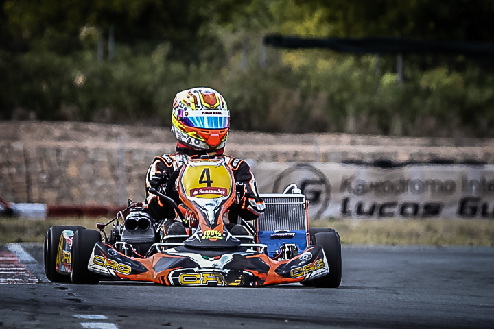 Yohan Sousa vence na categoria Sénior-KZ2 do Campeonato de Espanha