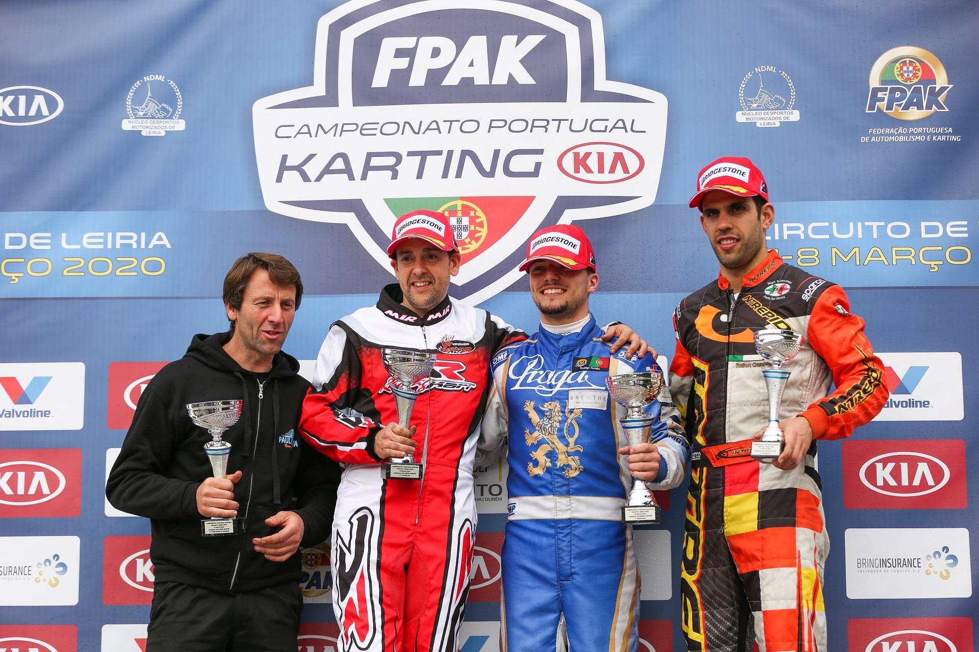 Rodrigo Ferreira ganha no Campeonato de Portugal de Karting X30 Super Shifter