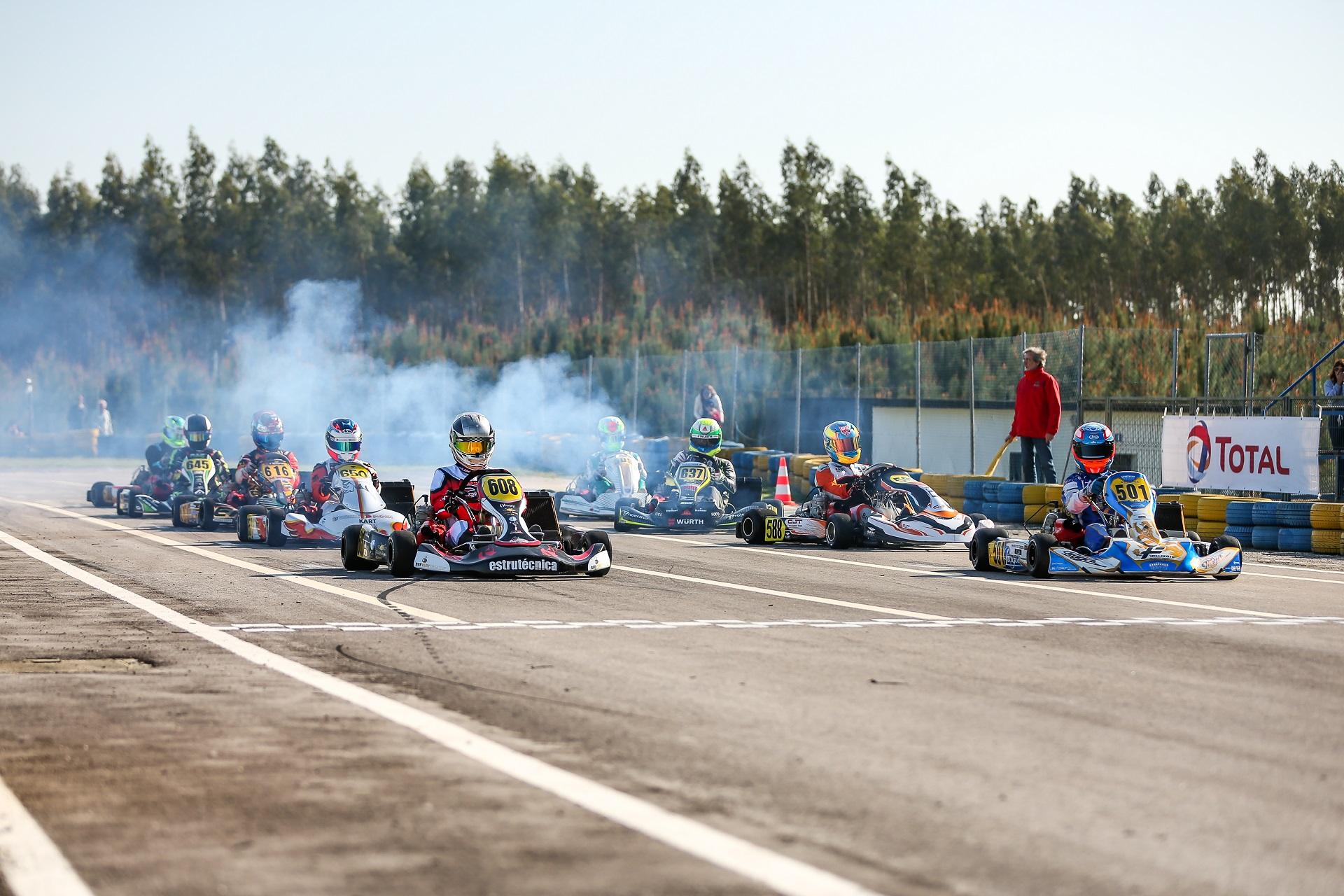 Rodrigo Ferreira venceu as duas mangas da primeira prova do CPK da X30 Super Shifter