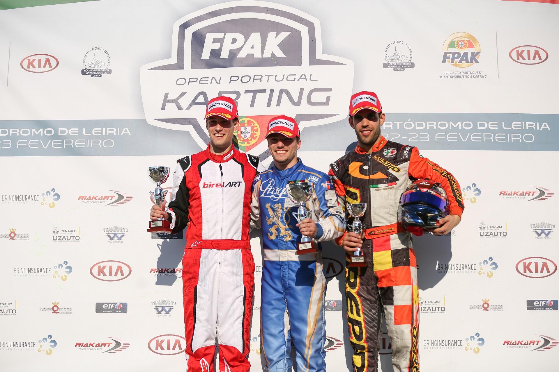 Rodrigo Ferreira domina Open de Portugal de Karting da categoria X30 Super Shifter