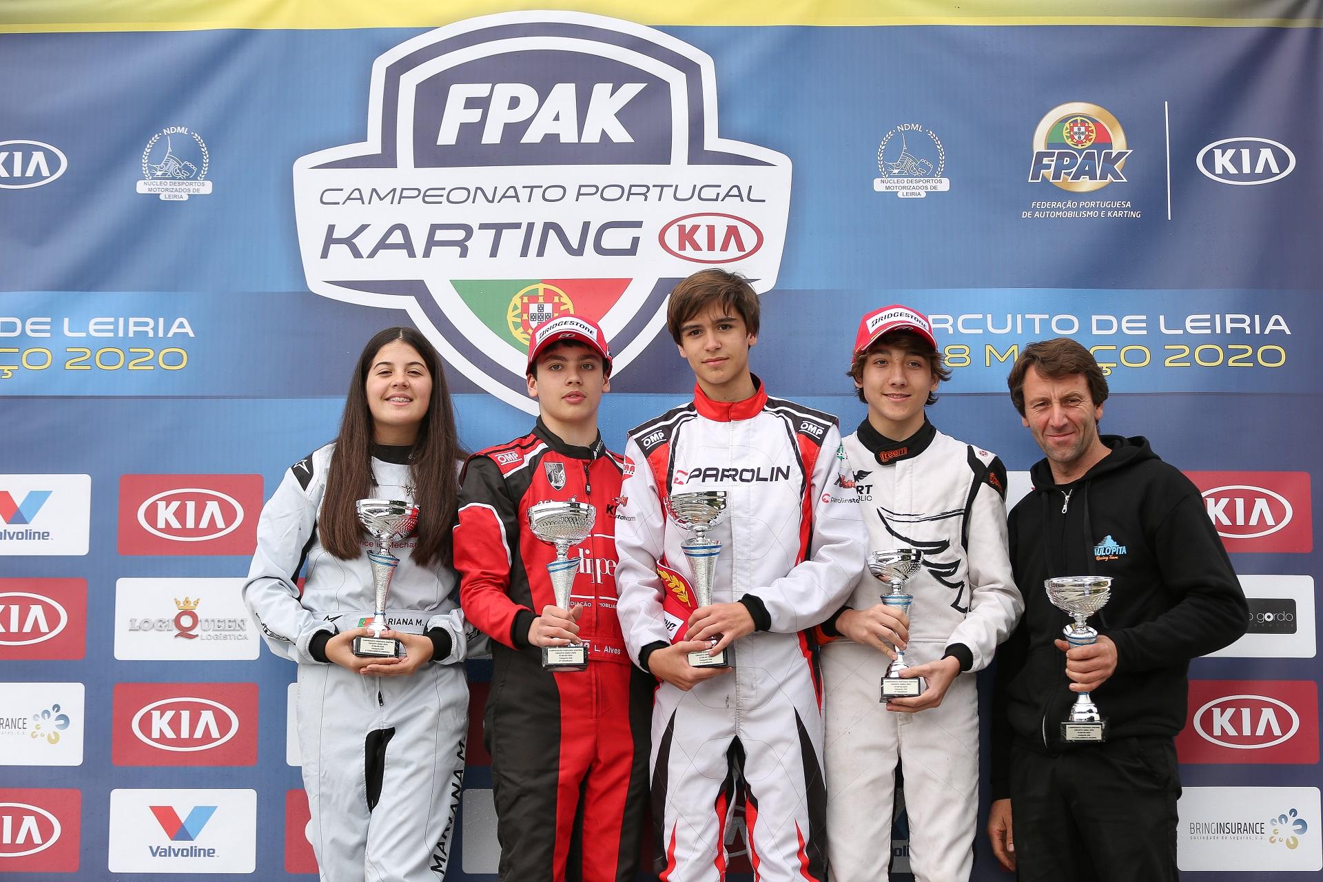 Miguel Silva inicia Campeonato de Portugal de Karting KIA com triunfo na X30 Sénior