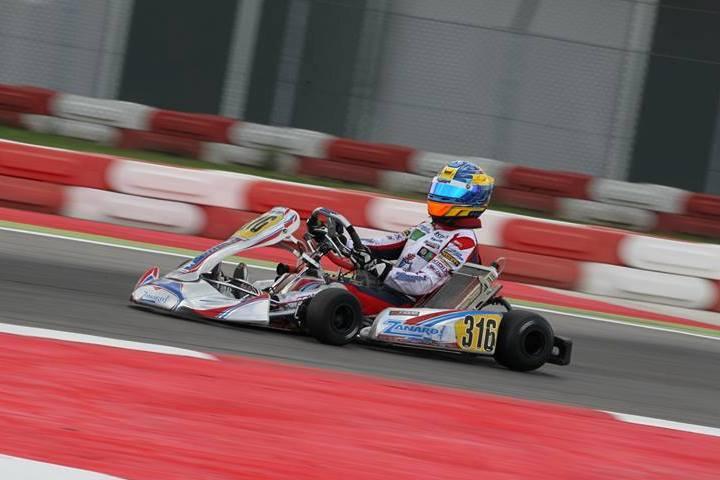 Yohan Sousa vai largar da 7ª posição numa das pré-finais do Europeu KZ2 em Adria