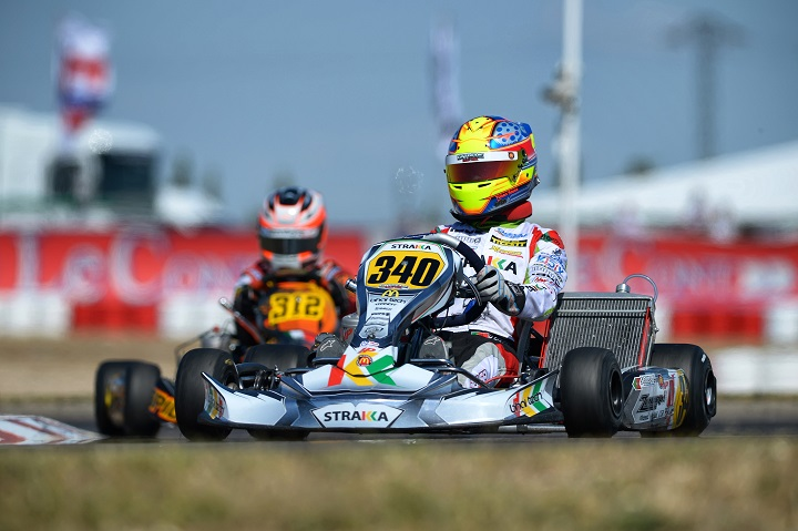 Incidente trava Yohan Sousa na Final no Campeonato Europeu KZ2 em Espanha