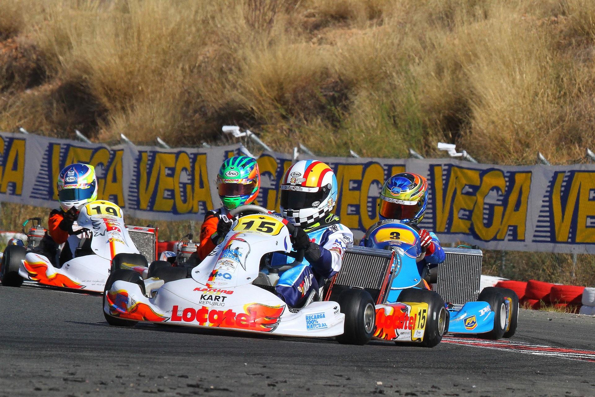 Luso-espanhol Adrían Malheiro somou um 8.º lugar na categoria Júnior do CEK