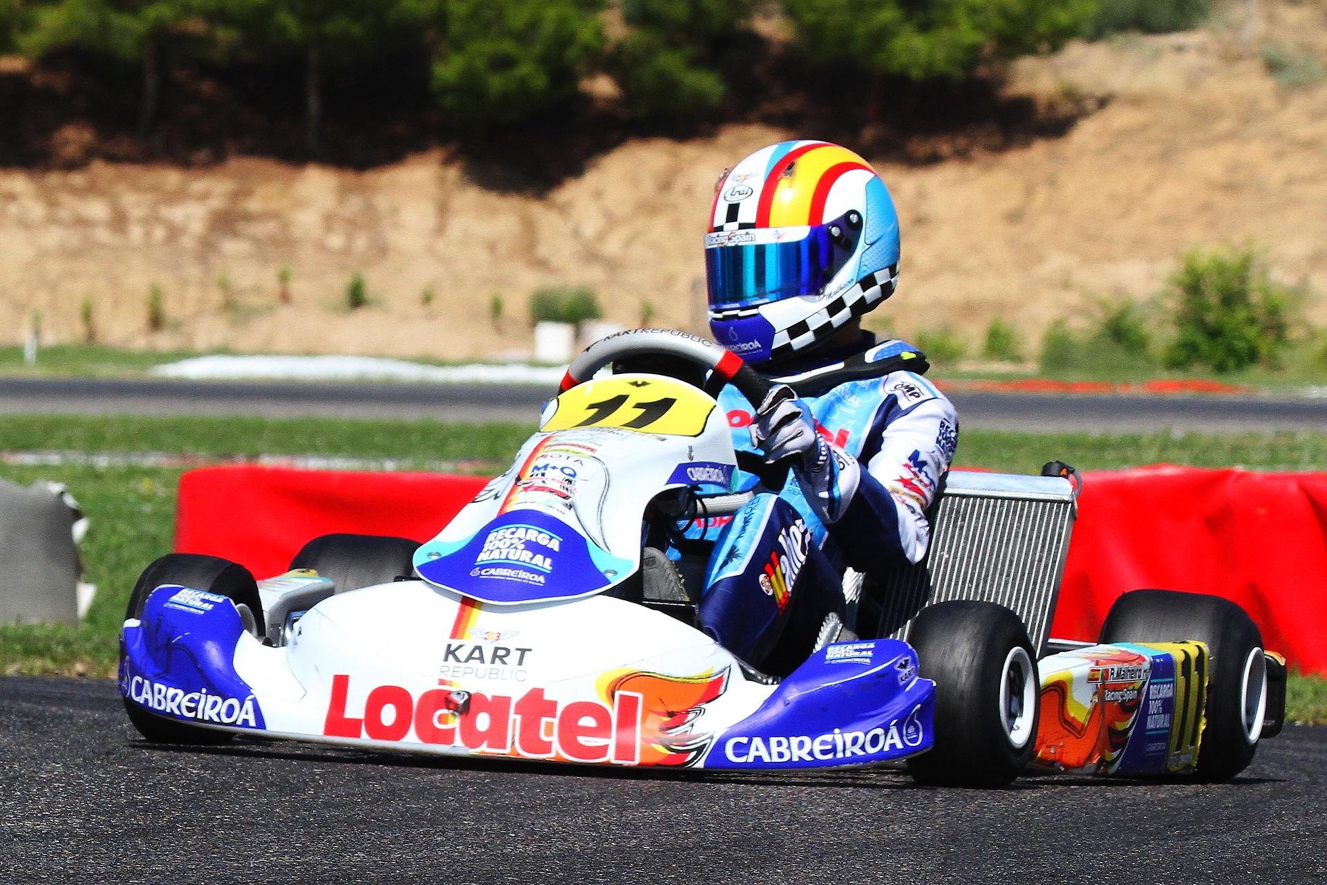 Sortes diferentes para os juniores portugueses na 3.ª prova do Campeonato de Espanha