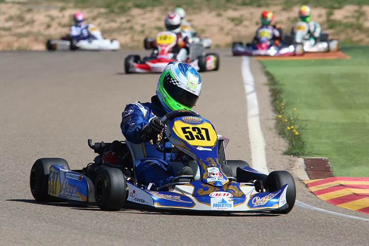 Catorze portugueses em Zuera na quarta prova das Series Rotax Espanha