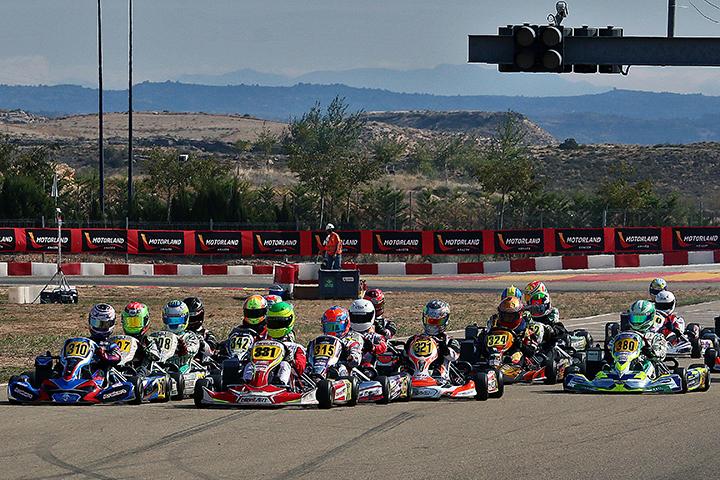 13 portugueses estão a disputar em Aragón a 2ª prova das Series Rotax Espanha