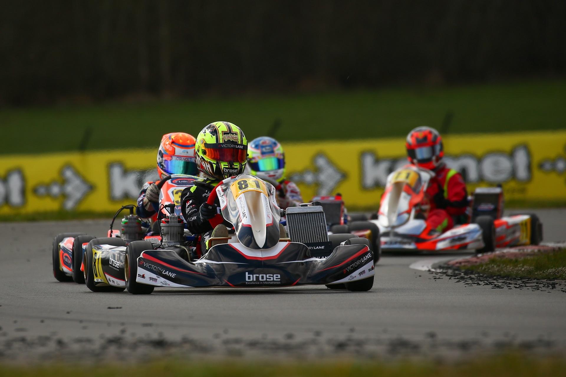 Noah Monteiro apurado para a Final da 1.ª prova da IAME Euro Series na Bélgica