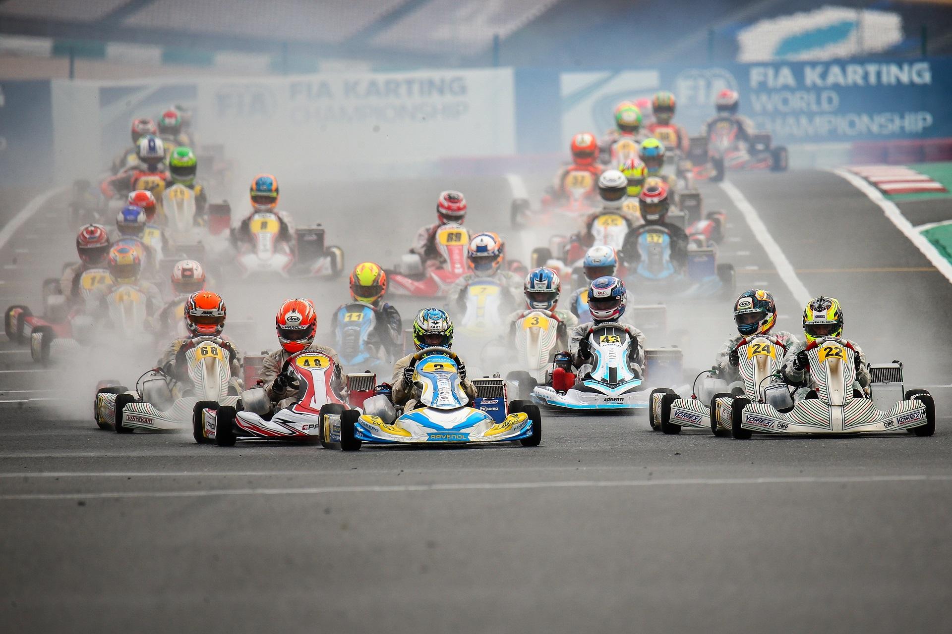 Bradshaw na OK e Slater na OK-Júnior campeões do mundo de Karting em Portimão