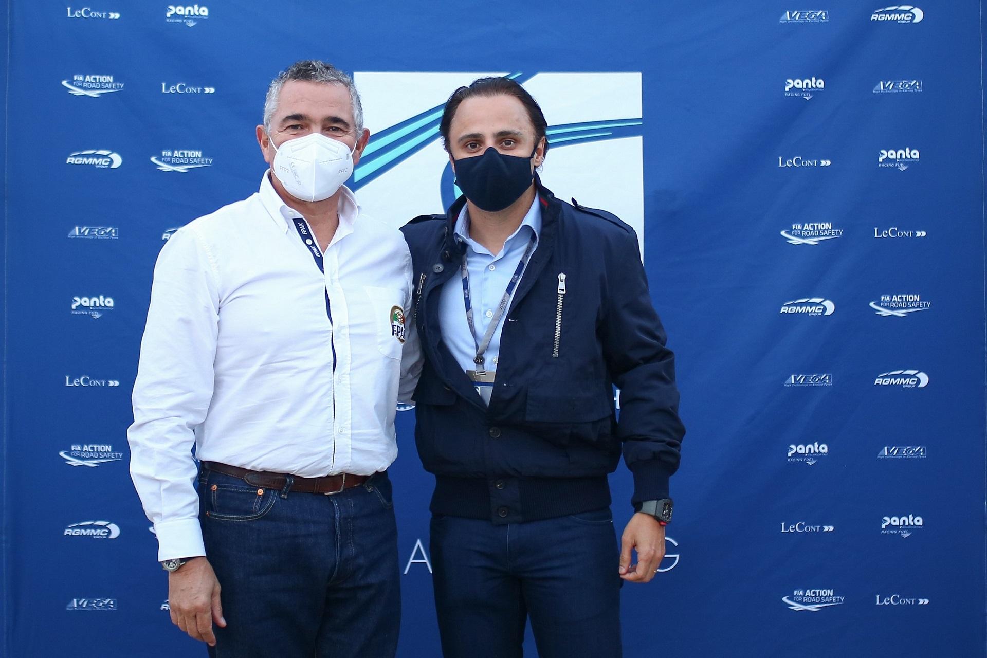 Ni Amorim e Felipe Massa reuniram-se para discutir o presente e o futuro do Karting
