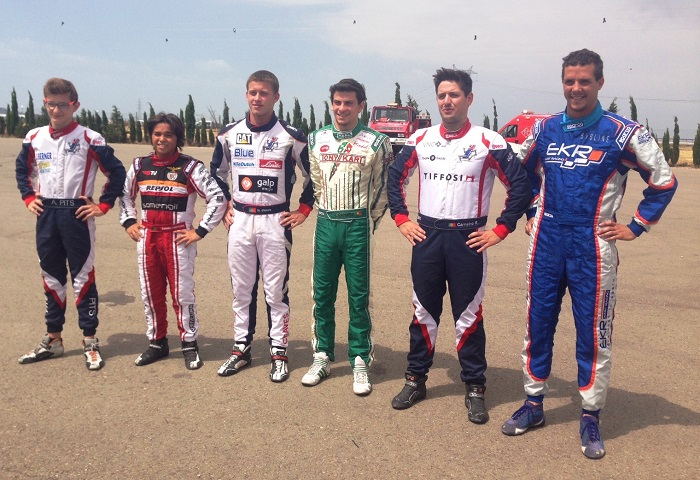 Andriy Pits garante pole-position na categoria Sénior do Campeonato de Espanha