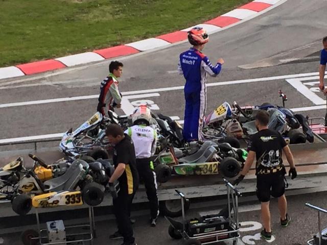Yohan Sousa 'albaroado' e falha apuramento direto para a Final do Europeu KZ2