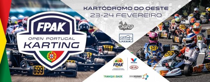Open de Portugal de Karting dá início à época de 2019 no circuito do Bombarral