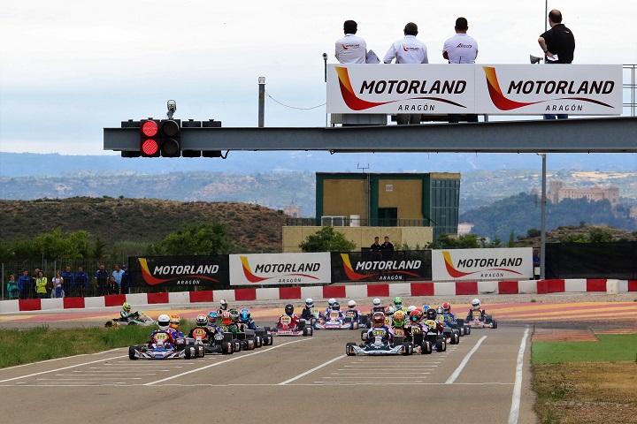 Portugueses em Motorland para a segunda prova das Series Rotax Espanha