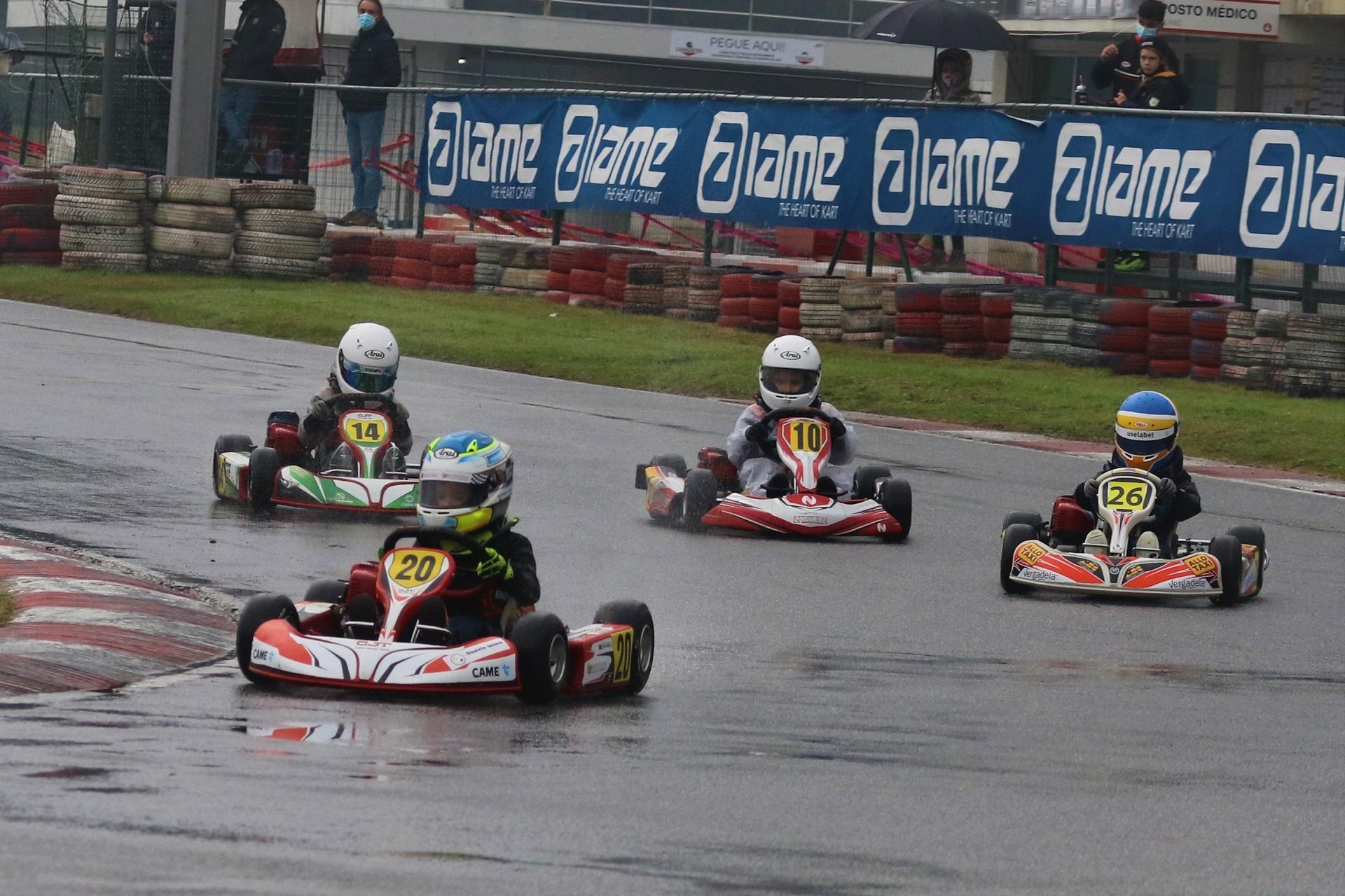 Xavier Lázaro é o novo campeão nacional de Karting da categoria Iniciação