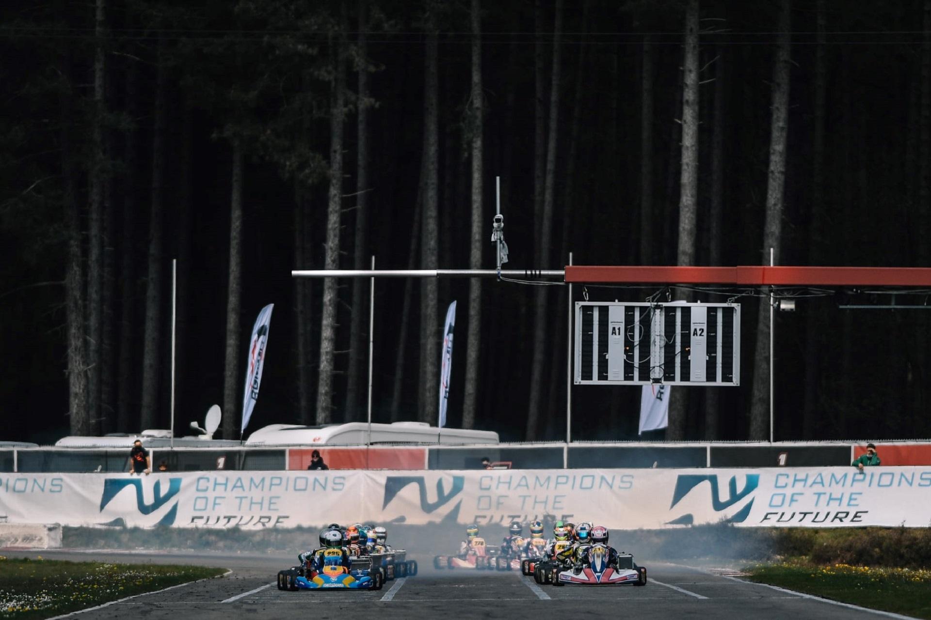 Ivan Domingues finalista na 1.ª prova do Campeonato Europeu FIA OK em Genk