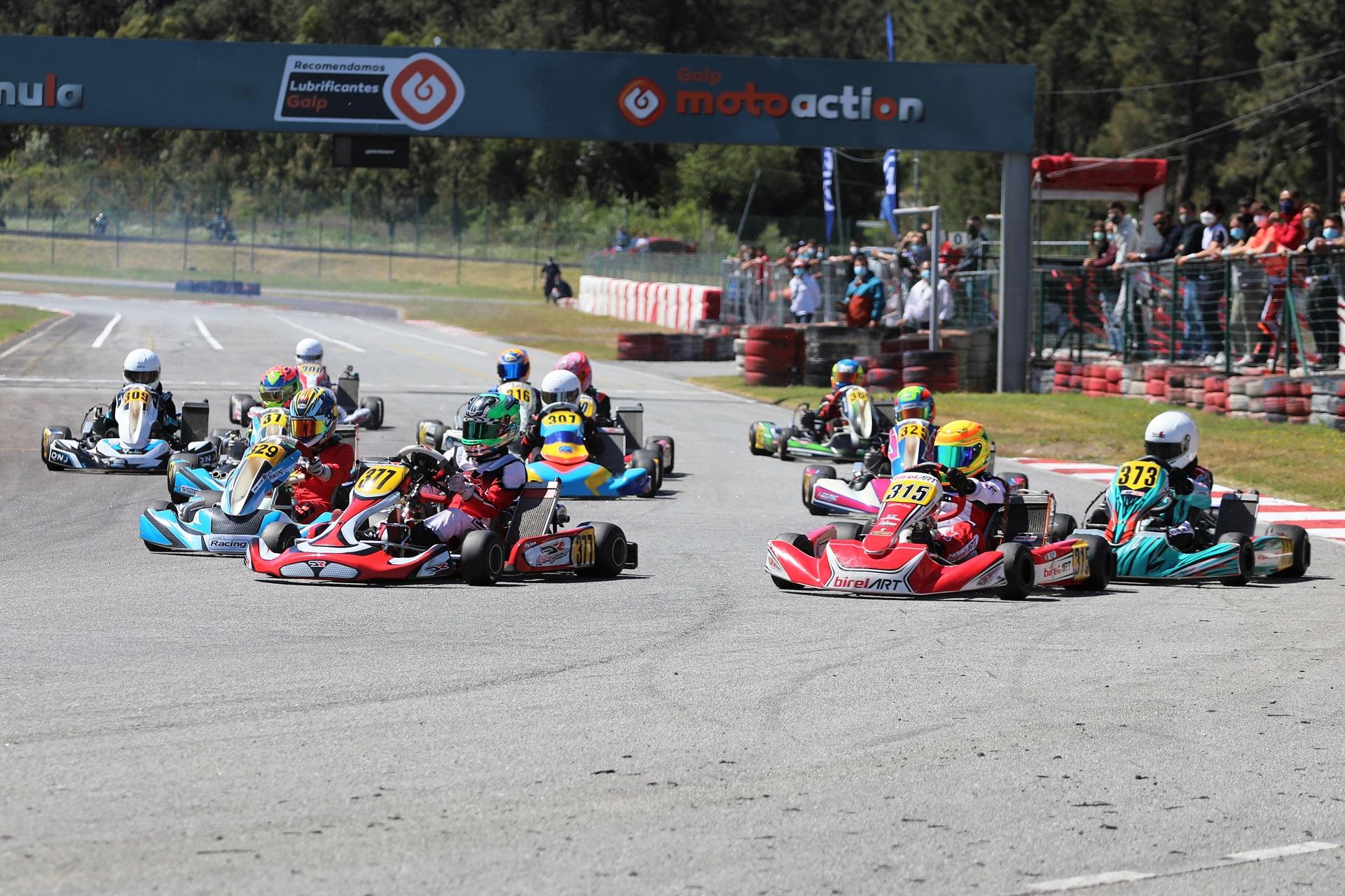 Primeira vitória de Rodrigo Vilaça no CPK da categoria Júnior em Viana do Castelo