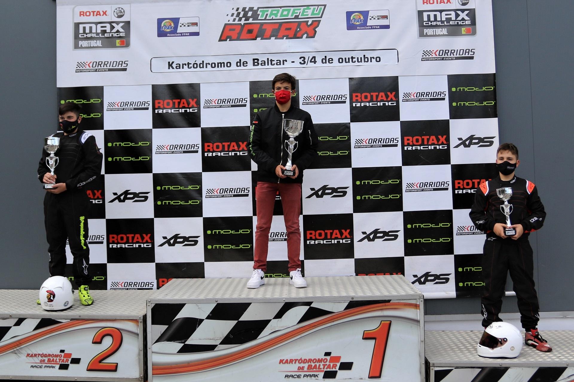 Duarte Pinto Coelho entra a vencer na quarta jornada dupla do Troféu Rotax Júnior
