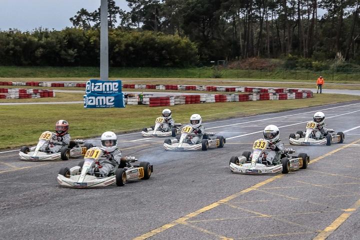 Os primeiros vencedores do recém-criado Troféu Kart Kid Race School