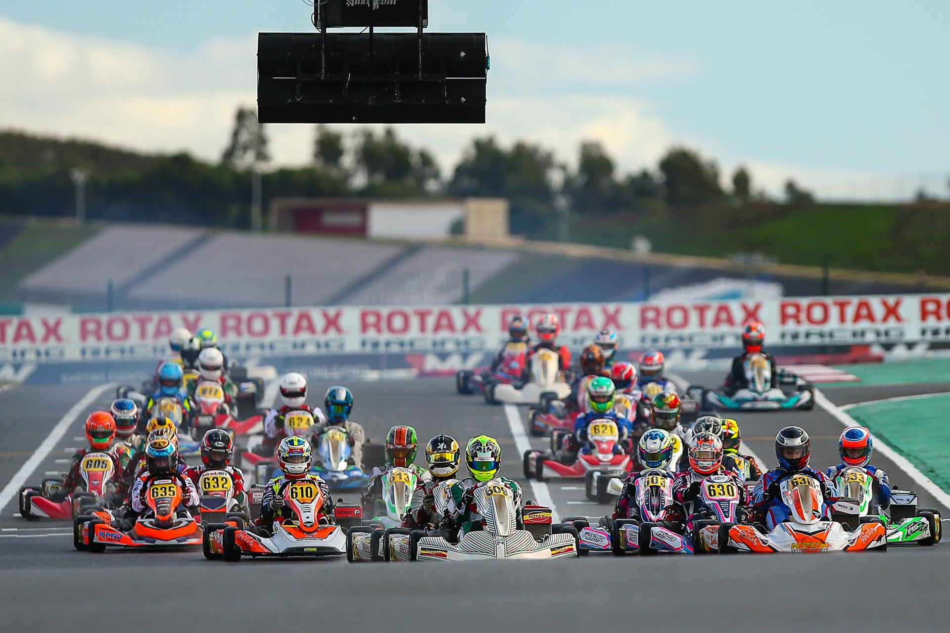 Portugueses com pouca sorte na categoria DD2 do Rotax International Trophy em Portimão