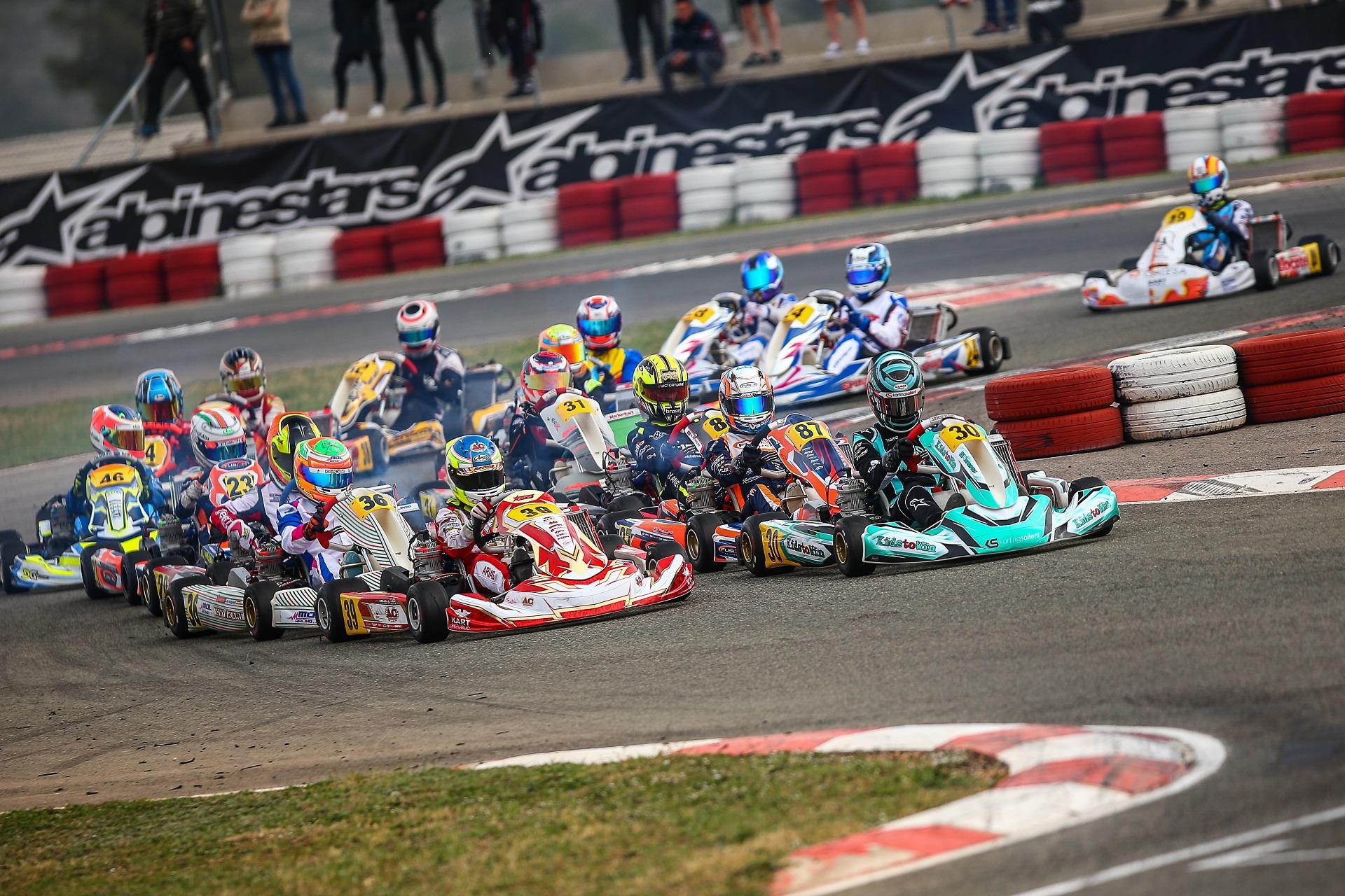 Cinco portugueses no arranque do IAME Euro Series este fim de semana em Mariembourg